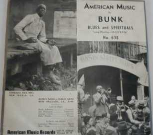 bUNK BLUES AND SPIRITUALS